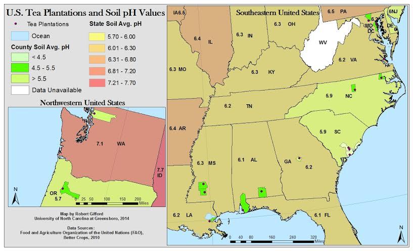 University of north carolina greensboro us league of tea for Soil 205 oregon state